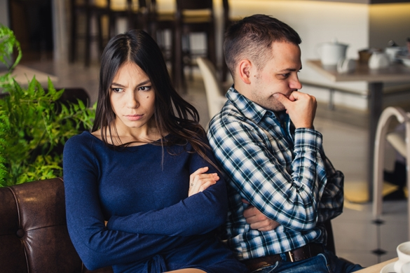 They are taking offense and sitting back - Taurus Man and Aquarius Woman Breakup