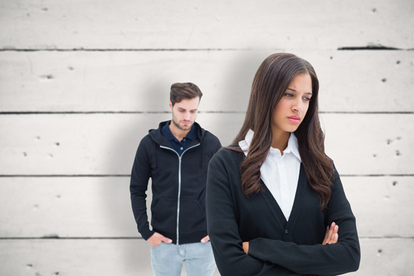 Unhappy couple not speaking to each other - Why Are Taurus Men So Secretive
