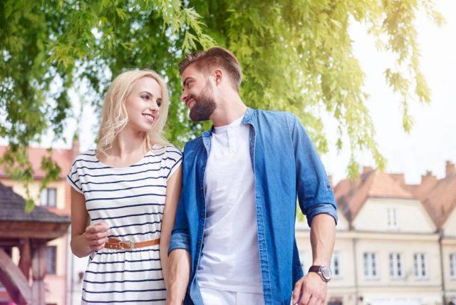 Couple Walk Attracting a Taurus Man June 2021